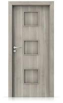 Interiérové dveře Porta FIT C.0 Portasynchro 3D AKÁT STŘÍBRNÝ