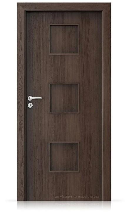 Interiérové dveře Porta FIT C.0 Portaperfect 3D DUB HAVANA