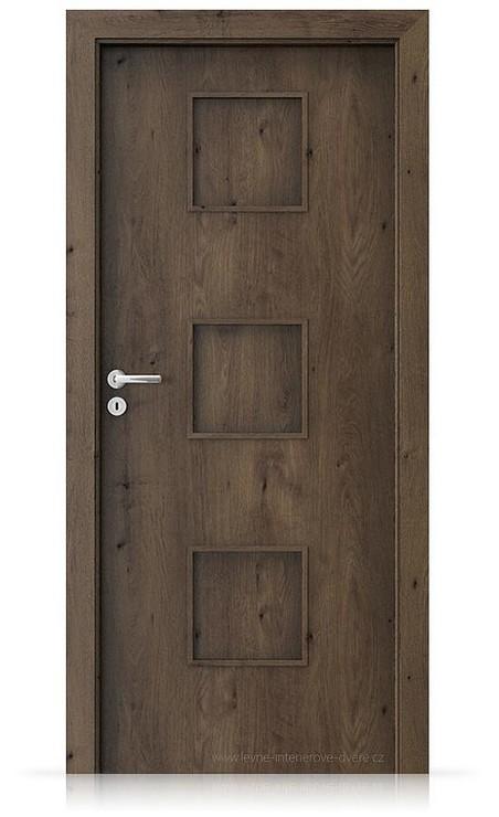 Interiérové dveře Porta FIT C.0 Portaperfect 3D DUB JIŽNÍ