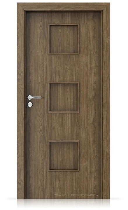 Interiérové dveře Porta FIT C.0 Laminát CPL HQ OŘECH PŘÍRODNÍ