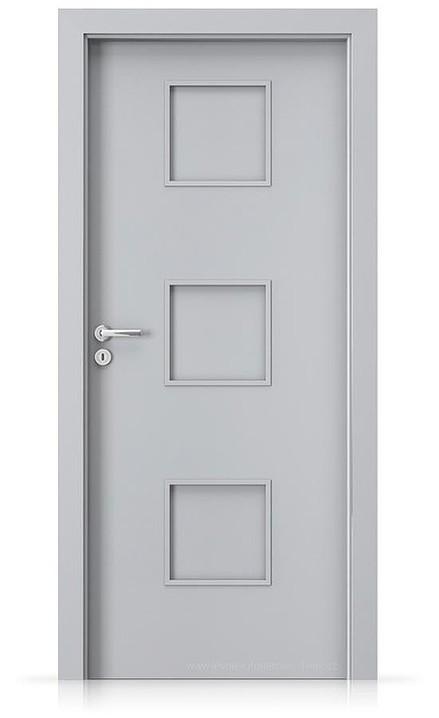 Interiérové dveře Porta FIT C.0 Laminát CPL HQ ŠEDÁ