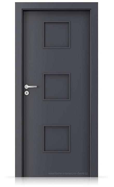Interiérové dveře Porta FIT C.0 Laminát CPL HQ ANTRACIT HPL/CPL