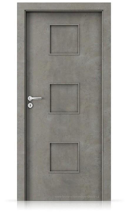 Interiérové dveře Porta FIT C.0 Laminát CPL HQ BETON SVĚTLÝ