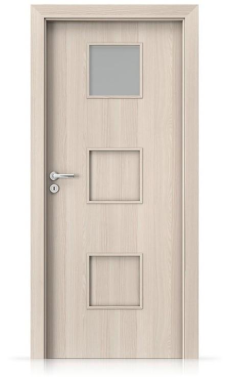 Interiérové dveře Porta FIT C.1 Portadecor OŘECH BĚLENÝ