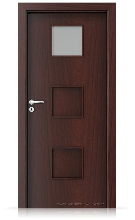 Interiérové dveře Porta FIT C.1 Portasynchro 3D AKÁT MEDOVÝ