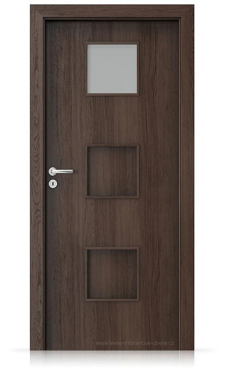 Interiérové dveře Porta FIT C.1 Portaperfect 3D DUB HAVANA