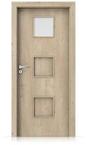 Interiérové dveře Porta FIT C.1 Portaperfect 3D DUB KLASICKÝ
