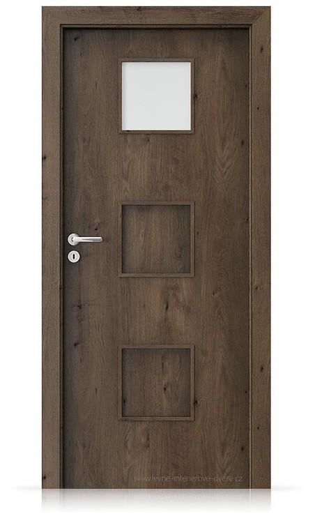 Interiérové dveře Porta FIT C.1 Portaperfect 3D DUB JIŽNÍ
