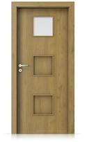 Interiérové dveře Porta FIT C.1 Portaperfect 3D DUB PŘÍRODNÍ