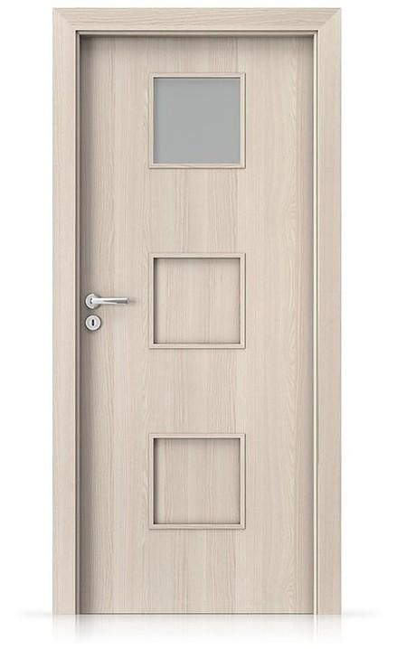 Interiérové dveře Porta FIT C.1 Laminát CPL HQ OŘECH BĚLENÝ