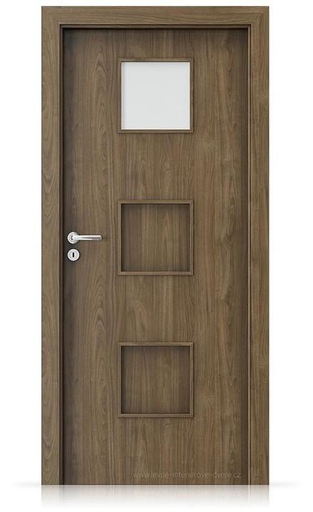 Interiérové dveře Porta FIT C.1 Laminát CPL HQ OŘECH PŘÍRODNÍ