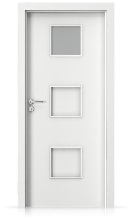 Interiérové dveře Porta FIT C.1 Laminát CPL HQ BÍLÁ