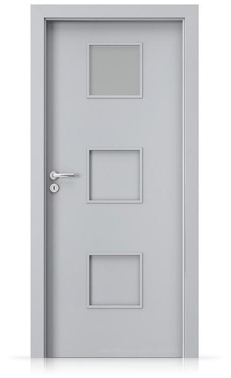 Interiérové dveře Porta FIT C.1 Laminát CPL HQ ŠEDÁ