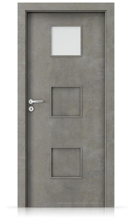 Interiérové dveře Porta FIT C.1 Laminát CPL HQ BETON SVĚTLÝ