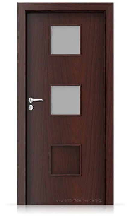 Interiérové dveře Porta FIT C.2 Portasynchro 3D AKÁT MEDOVÝ