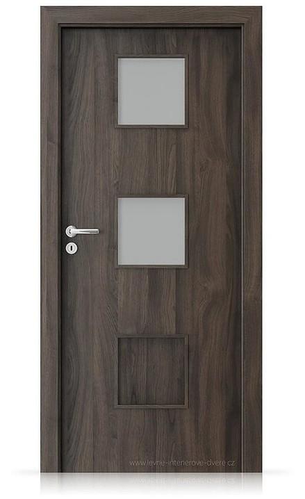 Interiérové dveře Porta FIT C.2 Portasynchro 3D DUB TMAVÝ