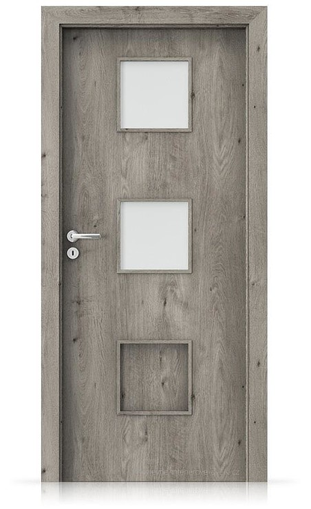 Interiérové dveře Porta FIT C.2 Portaperfect 3D DUB SIBIŘSKÝ
