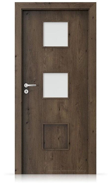Interiérové dveře Porta FIT C.2 Portaperfect 3D DUB JIŽNÍ