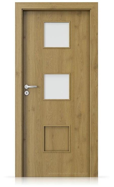 Interiérové dveře Porta FIT C.2 Portaperfect 3D DUB PŘÍRODNÍ