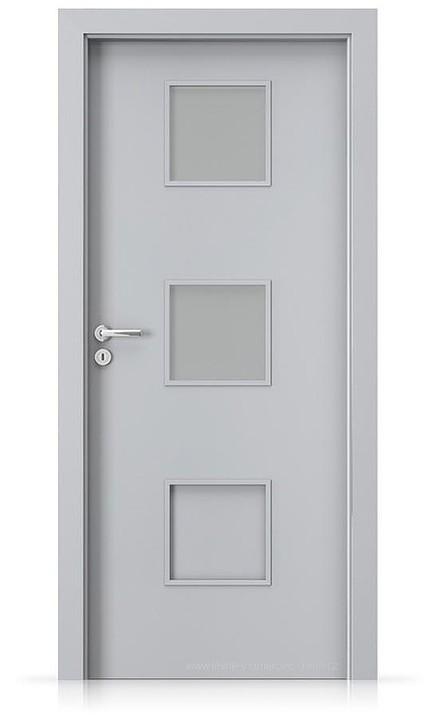 Interiérové dveře Porta FIT C.2 Laminát CPL HQ ŠEDÁ