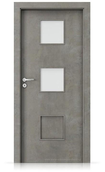 Interiérové dveře Porta FIT C.2 Laminát CPL HQ BETON SVĚTLÝ