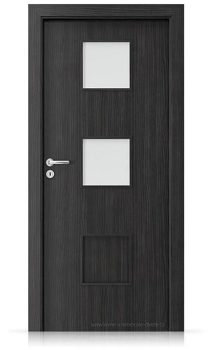 Interiérové dveře Porta FIT C.2 Laminát CPL HQ STRUKTURA TMAVÁ