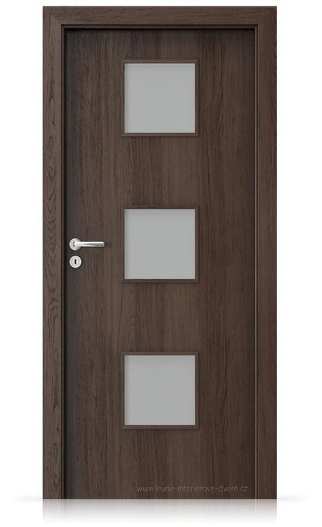 Interiérové dveře Porta FIT C.3 Portaperfect 3D DUB HAVANA