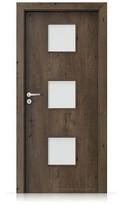 Interiérové dveře Porta FIT C.3 Portaperfect 3D DUB JIŽNÍ