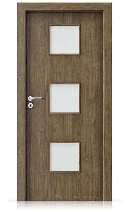 Interiérové dveře Porta FIT C.3 Laminát CPL HQ OŘECH PŘÍRODNÍ