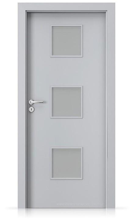 Interiérové dveře Porta FIT C.3 Laminát CPL HQ ŠEDÁ