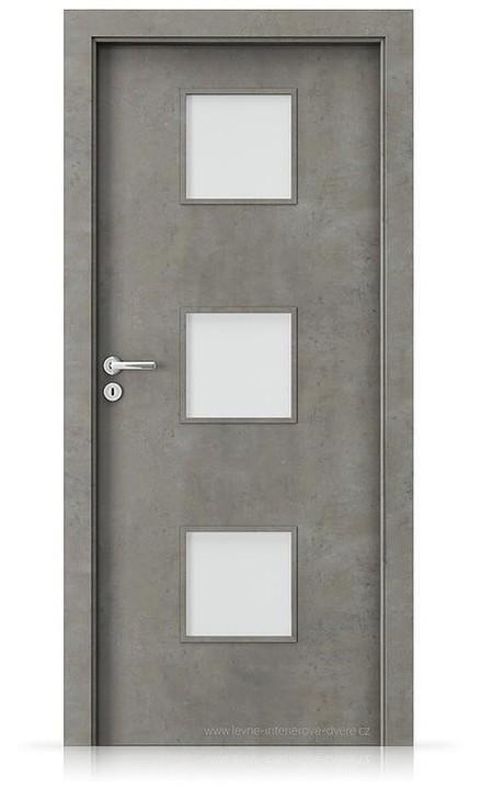 Interiérové dveře Porta FIT C.3 Laminát CPL HQ BETON SVĚTLÝ