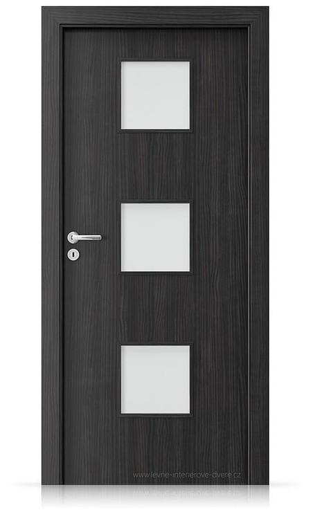 Interiérové dveře Porta FIT C.3 Laminát CPL HQ STRUKTURA TMAVÁ