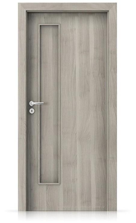 Interiérové dveře Porta FIT I.0 Portasynchro 3D AKÁT STŘÍBRNÝ