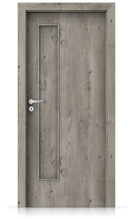 Interiérové dveře Porta FIT I.0 Portaperfect 3D DUB SIBIŘSKÝ