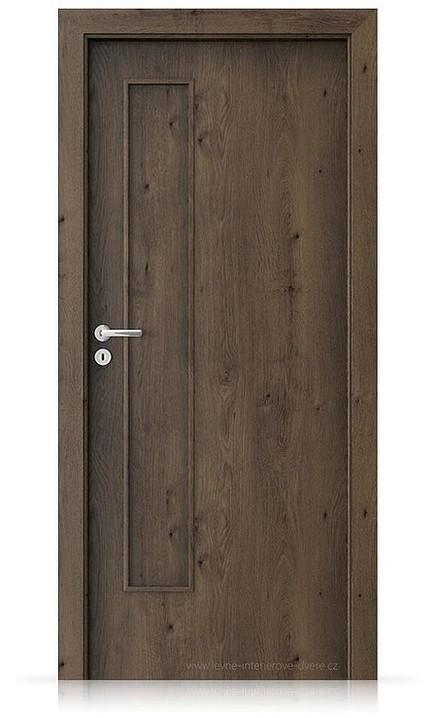 Interiérové dveře Porta FIT I.0 Portaperfect 3D DUB JIŽNÍ