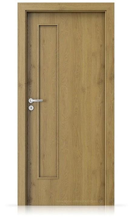 Interiérové dveře Porta FIT I.0 Portaperfect 3D DUB PŘÍRODNÍ