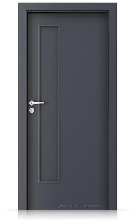 Interiérové dveře Porta FIT I.0 Laminát CPL HQ ANTRACIT HPL/CPL