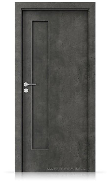 Interiérové dveře Porta FIT I.0 Laminát CPL HQ BETON TMAVÝ
