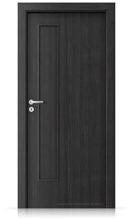 Interiérové dveře Porta FIT I.0 Laminát CPL HQ STRUKTURA TMAVÁ
