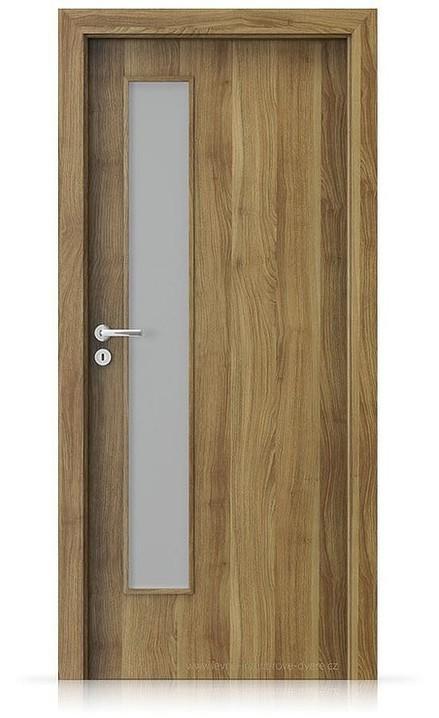 Interiérové dveře Porta FIT I.1 Portasynchro 3D AKÁT MEDOVÝ
