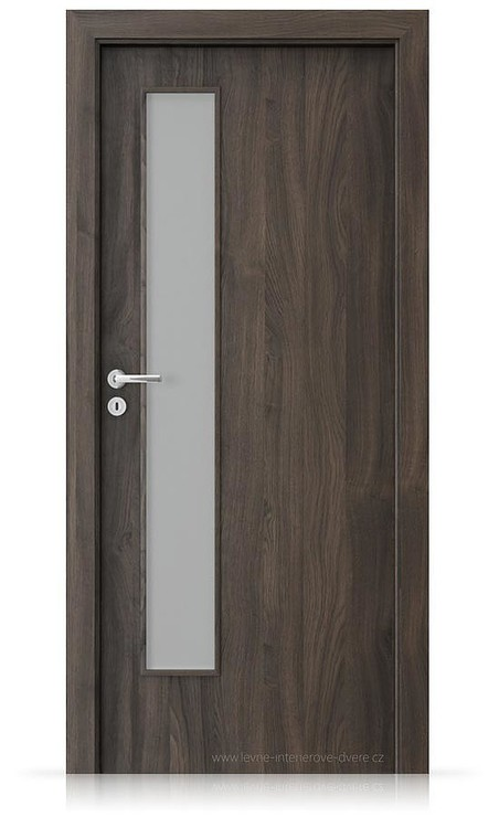 Interiérové dveře Porta FIT I.1 Portasynchro 3D DUB TMAVÝ