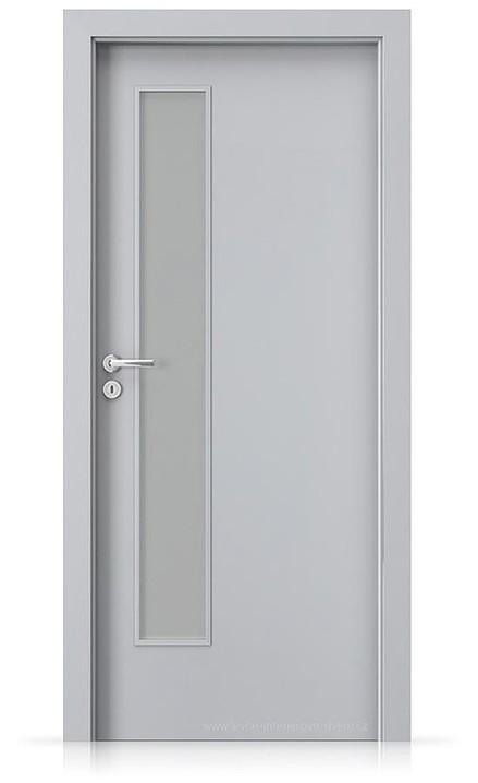 Interiérové dveře Porta FIT I.1 Laminát CPL HQ ŠEDÁ