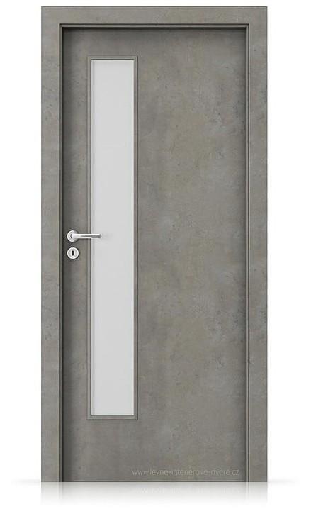 Interiérové dveře Porta FIT I.1 Laminát CPL HQ BETON SVĚTLÝ