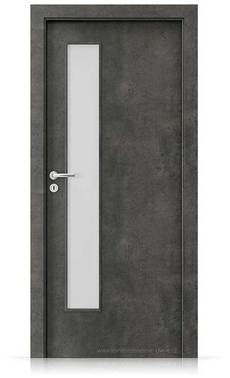Interiérové dveře Porta FIT I.1 Laminát CPL HQ BETON TMAVÝ