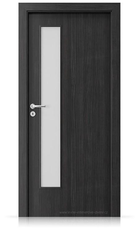 Interiérové dveře Porta FIT I.1 Laminát CPL HQ STRUKTURA TMAVÁ
