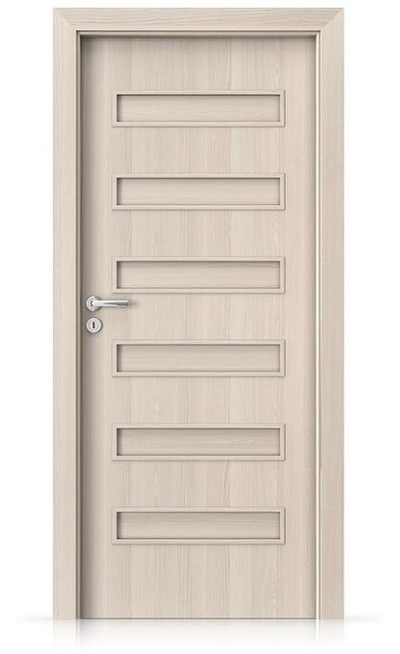 Interiérové dveře Porta FIT F.0 Portadecor OŘECH BĚLENÝ
