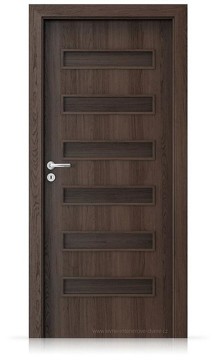 Interiérové dveře Porta FIT F.0 Portaperfect 3D DUB HAVANA