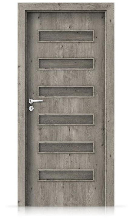 Interiérové dveře Porta FIT F.0 Portaperfect 3D DUB SIBIŘSKÝ