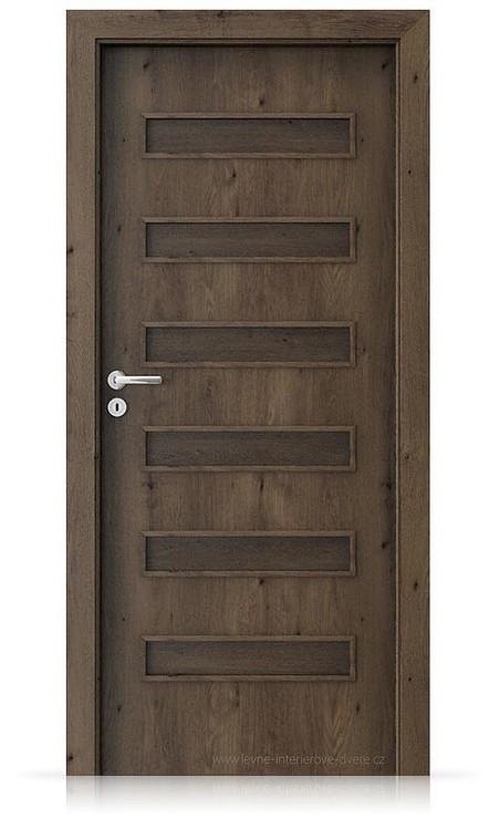 Interiérové dveře Porta FIT F.0 Portaperfect 3D DUB JIŽNÍ