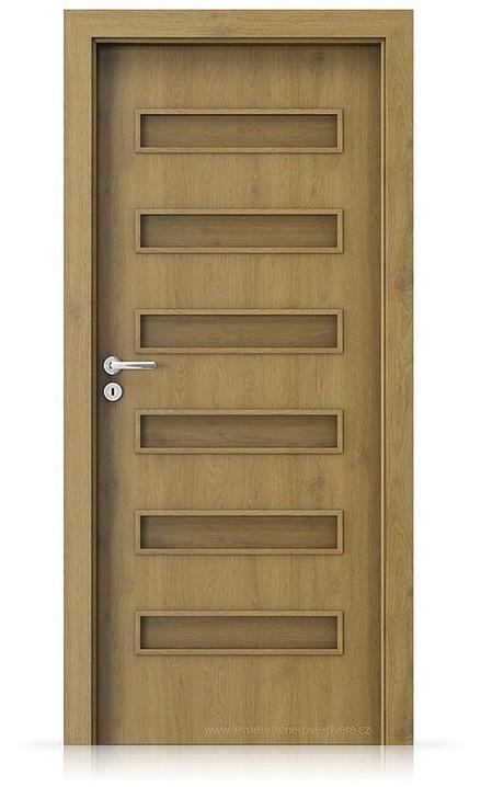 Interiérové dveře Porta FIT F.0 Portaperfect 3D DUB PŘÍRODNÍ